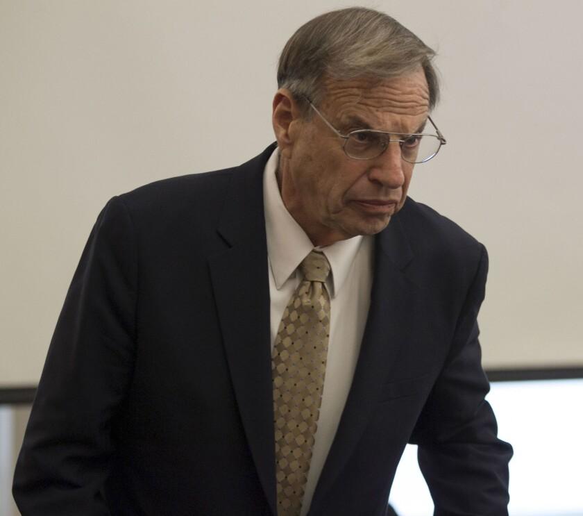 Former San Diego Mayor Bob Filner