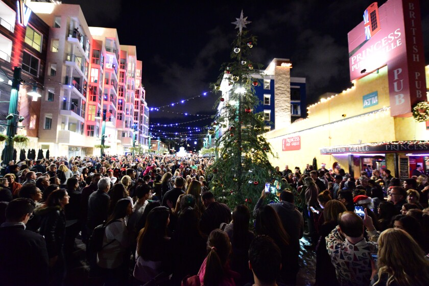 A photo of Little Italy Tree Lighting and Christmas Village