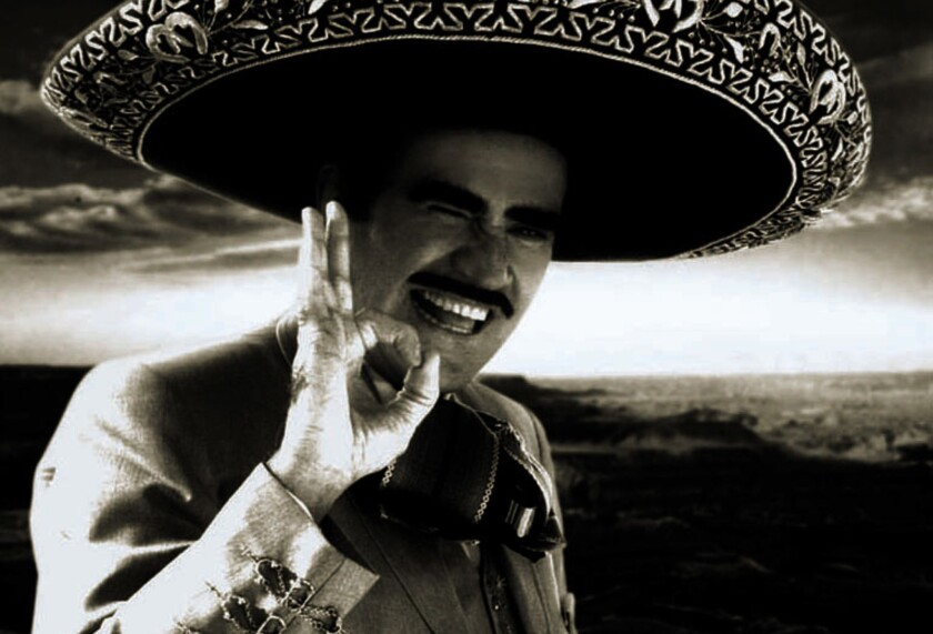 """Vicente Fernandez's greatest hit was """"Volver, Volver,"""" released in 1976. His first album to sell more than 1 million copies was """"15 Grandes con el Numero Uno,"""" out in 1983."""