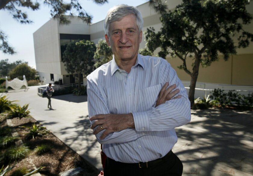 James Paulson, chair of the Cell and Molecular Biology Department at The Scripps Research Institute in La Jolla.