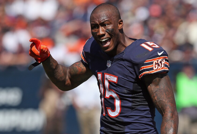 Chicago Bears trade Brandon Marshall to New York Jets, reports say - Los  Angeles Times