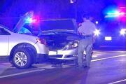 Child transported to the hospital after pursuit crash