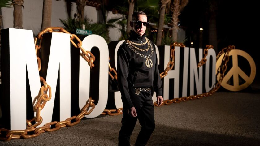 Moschino party, Coachella Valley Music and Arts Festival, Palm Springs, USA - 14 Apr 2018