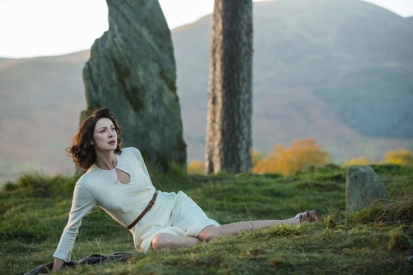 A scene from 'Outlander'