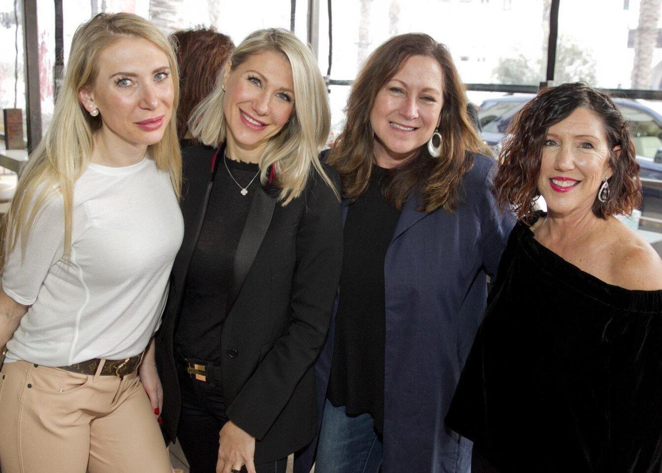 Irina Shkov, Marina Tsvyk, Melinda Tucker, Mary Reynolds