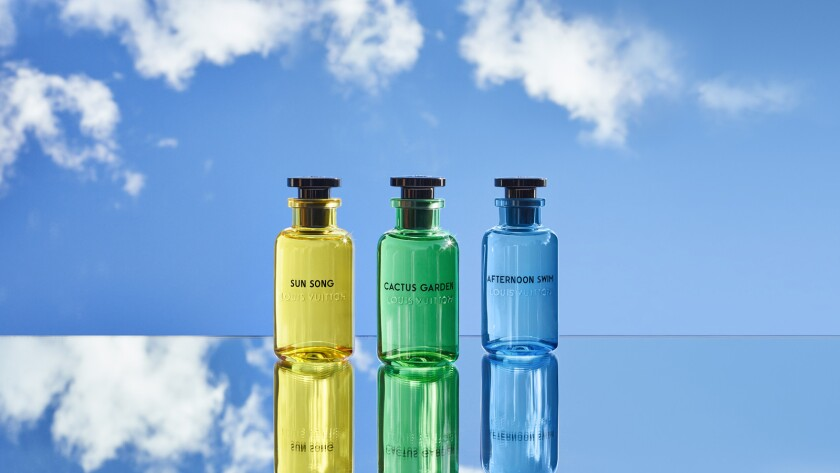 Featuring packaging designed by Los Angeles artist Alex Israel, this trio of scents brings all the c