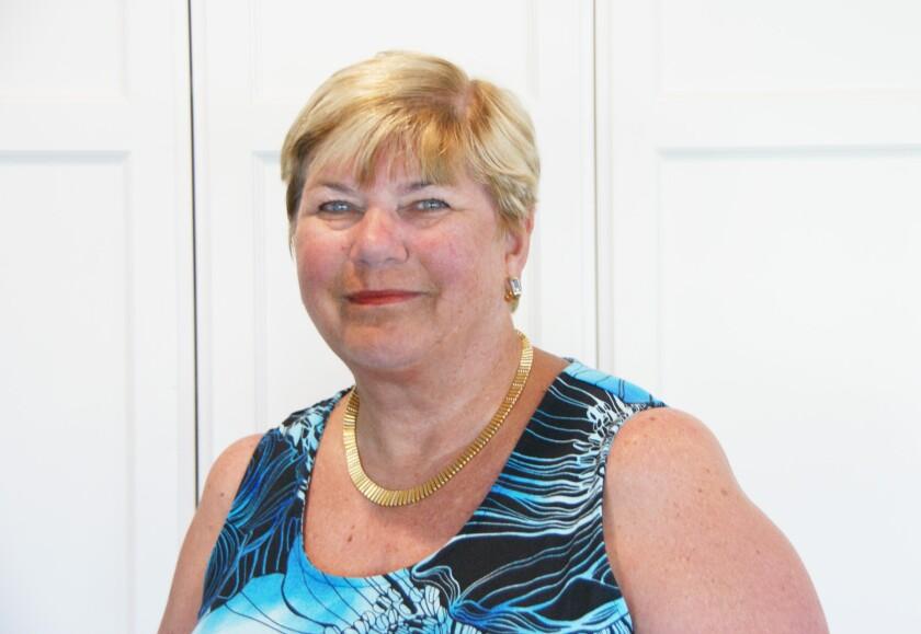 Sue DeVicariis, Soroptimist International of North San Diego president