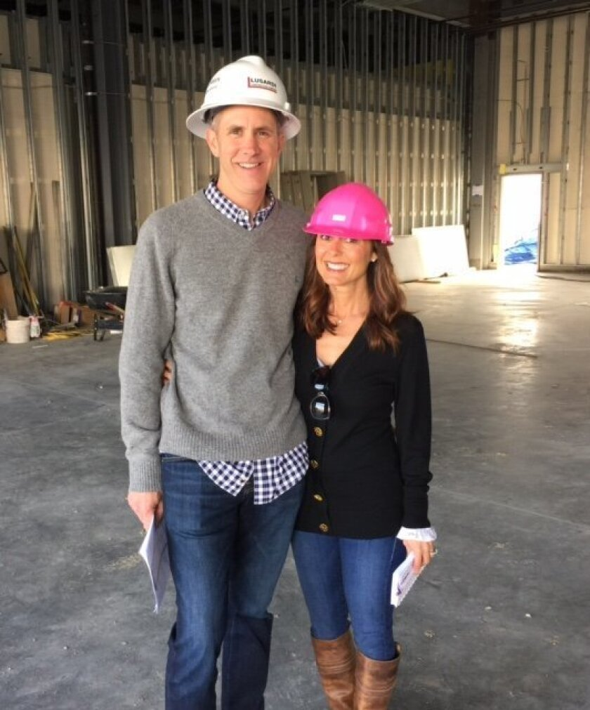 Chris and Annie Glenn will open Urban Girl Accessories in the new Village at Pacific Highlands Ranch.