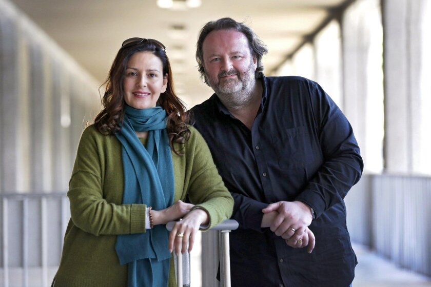 """Alexia Voulgaridou and Gwyn Hughes Jones have a long history with Puccini's romantic tragedy, """"Tosca."""""""