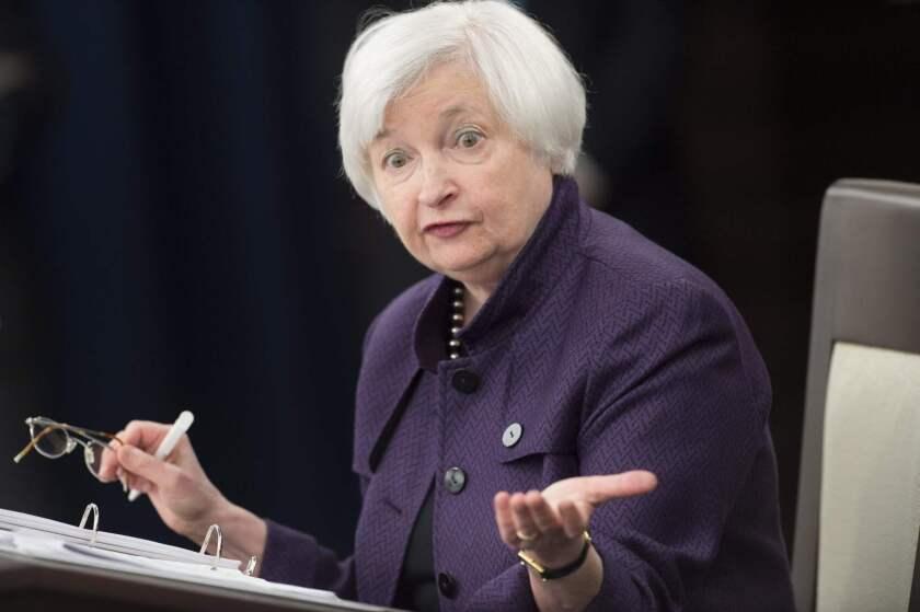 Federal Reserve Chairwoman Janet L. Yellen