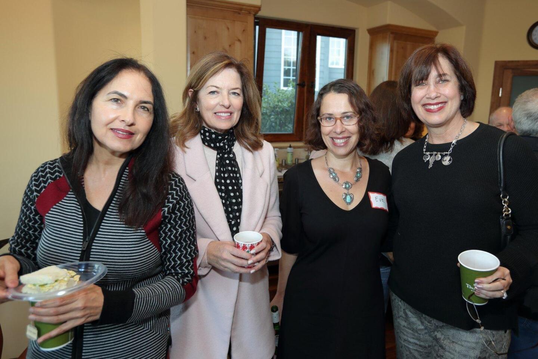 Marium Mizal, Lisa Hampton, Eva Holland, Blythe Effron