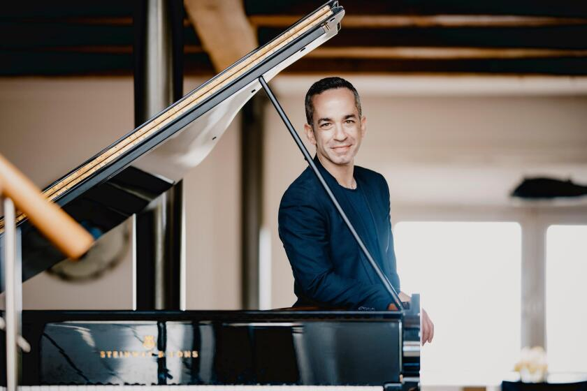 Award-winning pianist Inon Barnatan, SummerFest's new music director, will be performing in several of the concerts, beginning with Opening Night Aug. 2, 2019.