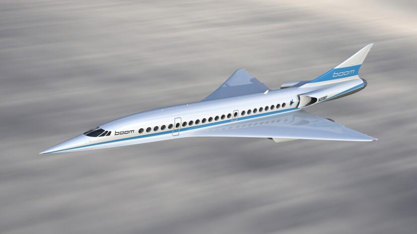 Supersonic passenger jet