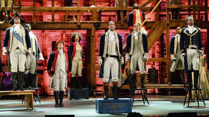 """Hamilton,"" from the stage to the movie screen"