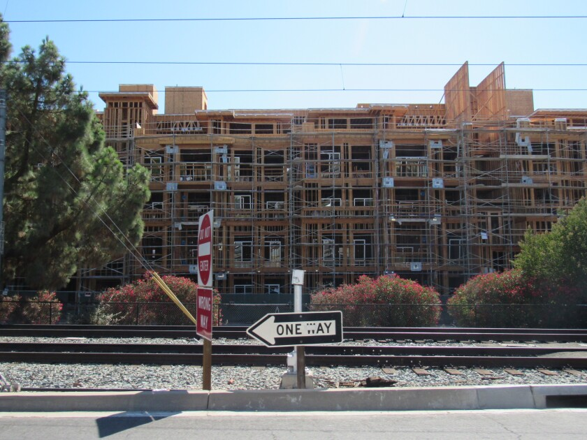 New housing is going up in La Mesa. The city recently submitted its required housing element to the state for approval.