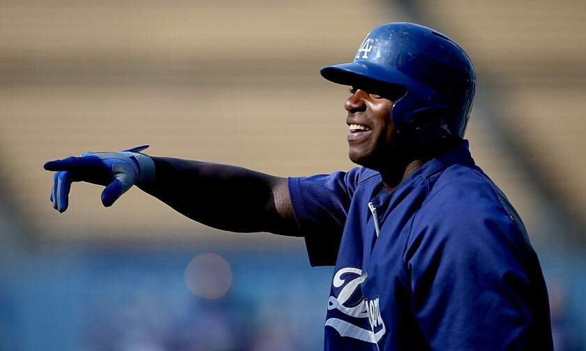 Cracking the door ever so slightly on Dodgers' Yasiel Puig