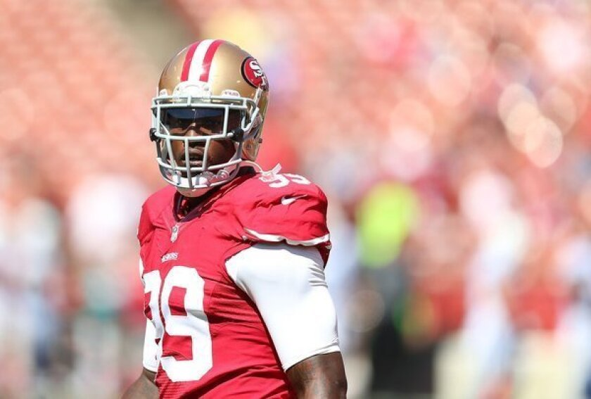 49er Aldon Smith charged with three felonies, expected to surrender