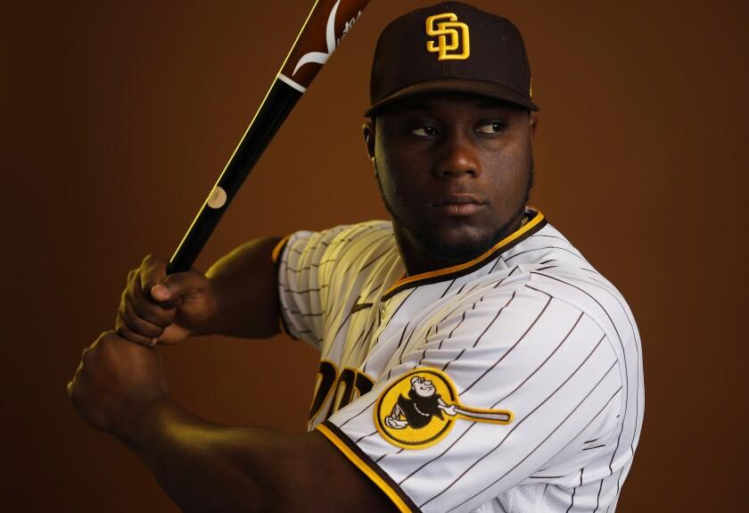 San Diego Padres outfielder Jorge Ona.