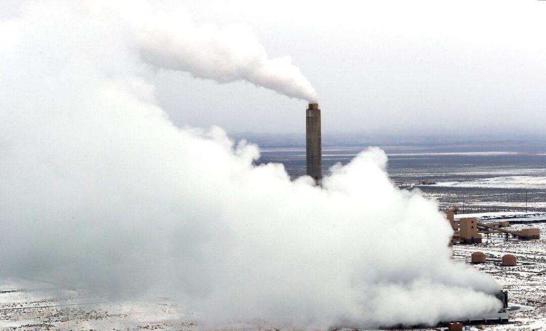 Steam from Intermountain Power Plant