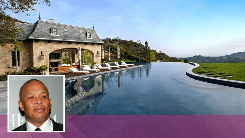 HOT PROPERTY: Brentwood homeowner Dr. Dre launches a remodeling project to add a 10,000-square-foot music studio.
