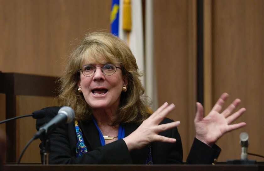 Elizabeth Loftus testifies as an expert in recovered memories.
