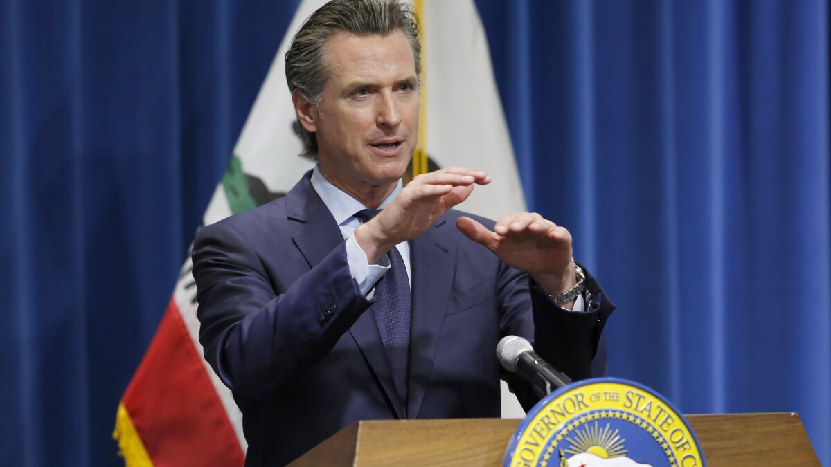 Newsom Says Covid 19 Data Is Correct After Administration Shakeup Los Angeles Times