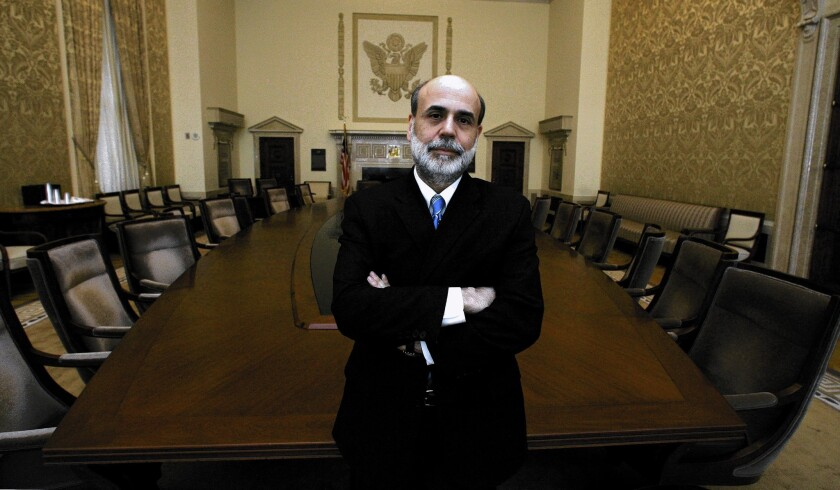 Federal Reserve Board Chairman Ben S. Bernanke, whose term expires Friday, has rebuffed the notion that his policies did little for the masses.