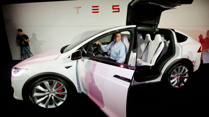 The National Highway Traffic Safety Administration is said to be investigating a second Tesla crash to determine whether its autopilot feature was engaged. The crash involved a Model X, pictured above.