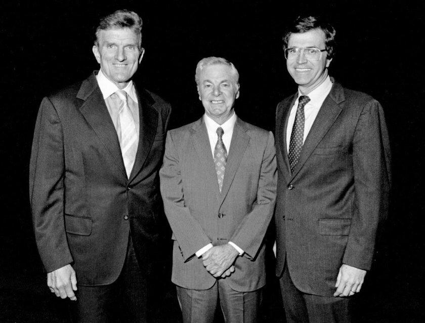 Los Angeles Times power trio