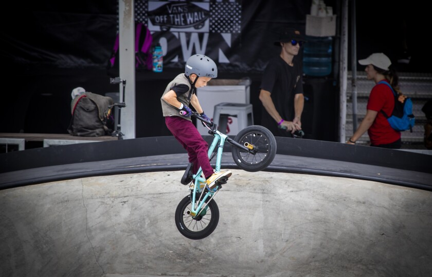 BMX rider Koby Clayton