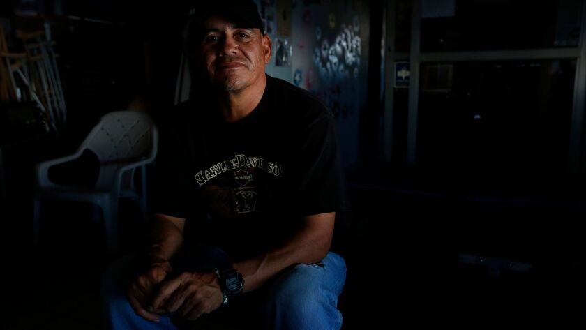 Jose Manuel Ortega, a veteran of the U.S. Navy, lives at the Deported Veterans Support House.