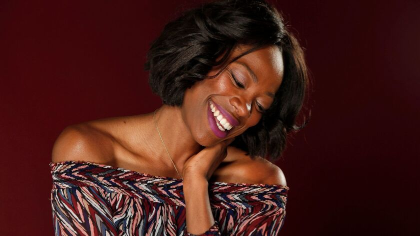 BURBANK, CA., APRIL 27, 2017--INSUCURE star Yvonne Orji is best known for her role as Molly in the H