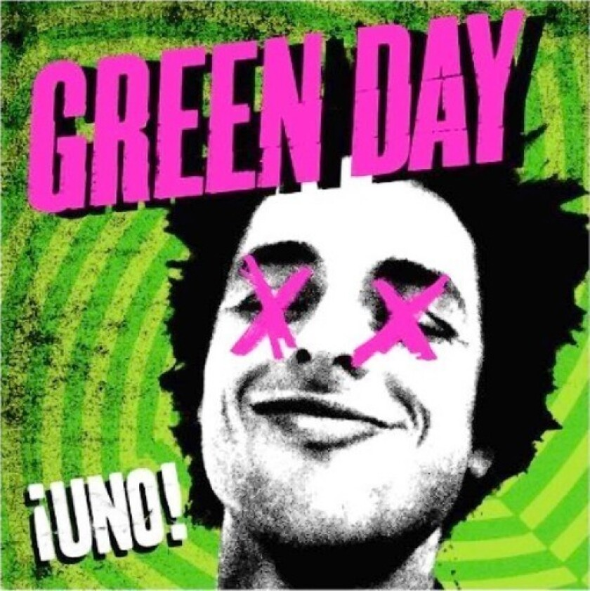 """The cover of Green Day's """"Uno."""""""