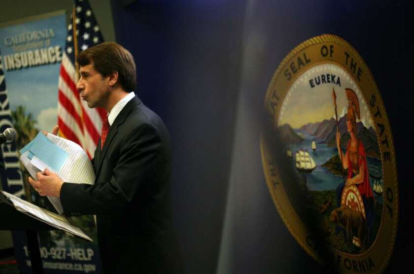 California Insurance Commissioner Dave Jones is a strong supporter of Proposition 45, which would give his office more authority over health-insurance rate increases.