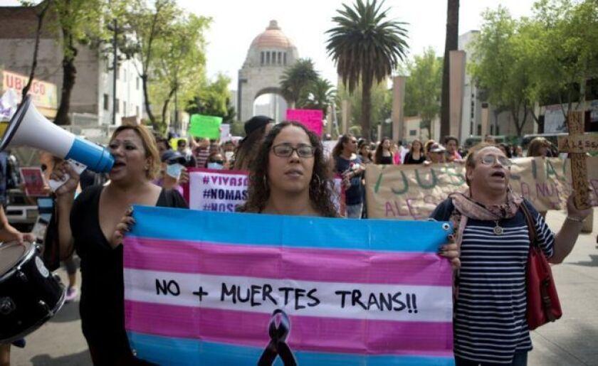 América Latina es la región del mundo en la que el odio a los transgénero se manifiesta de forma más brutal.