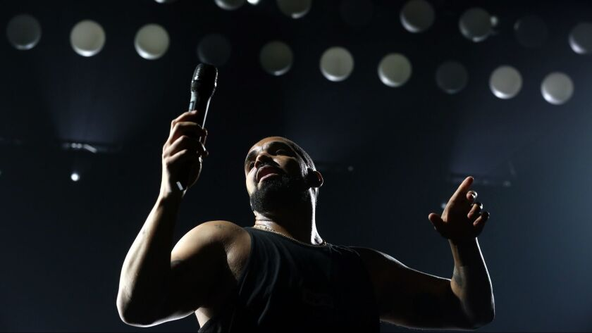 """Drake, seen performing in 2016, has a new album, """"Scorpion."""""""