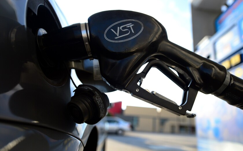 The U.S. average price of gasoline is expected to rise 8 cents to $2.57 this year, according to a GasBuddy forecast.