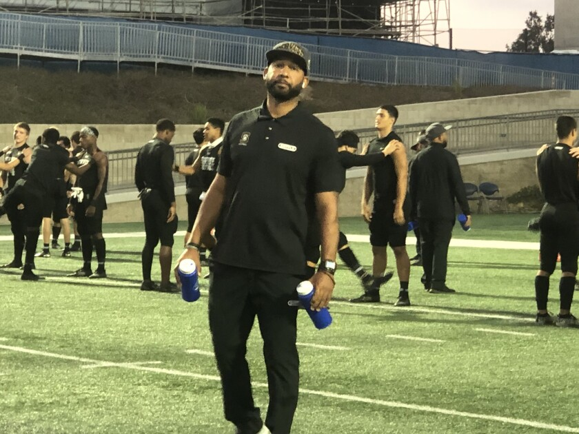 Servite offensive coordinator Darnell Arceneaux has been making an impact helping ignite the Friars' offense. He coached Marcus Mariota at Honolulu St. Louis.