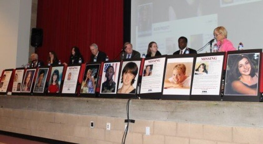 The Help Keep Kids Safe town hall forum was held at Cathedral Catholic on Jan. 30.