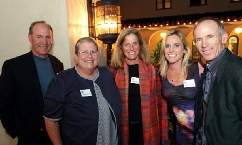 Todd McKinney, Lindy Delaney, Becky McKinney, Heather and William Berger