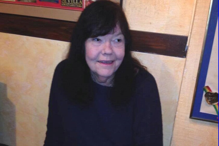 Producer and artistic director Diana Gibson, seen in the lobby of the Fountain Theatre, has died. For more than 30 years she was known as a sometimes mercurial but artistically accomplished figure on L.A.'s small-theater scene.