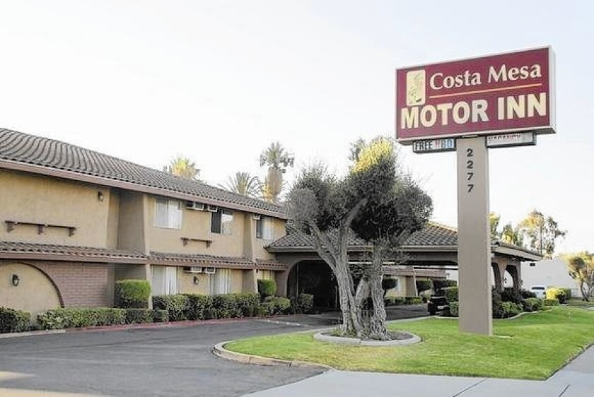 A lawsuit filed by the Kennedy Commission is challenging plans to demolish the Costa Mesa Motor Inn and replace it with 224 luxury apartments.