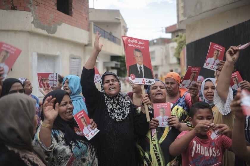 Tunisia Elections Professor vs Prisoner