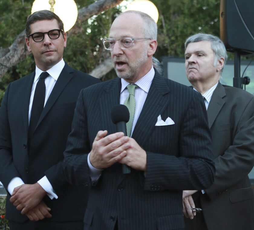 Rick Jacobs, former advisor to L.A. Mayor Eric Garcetti