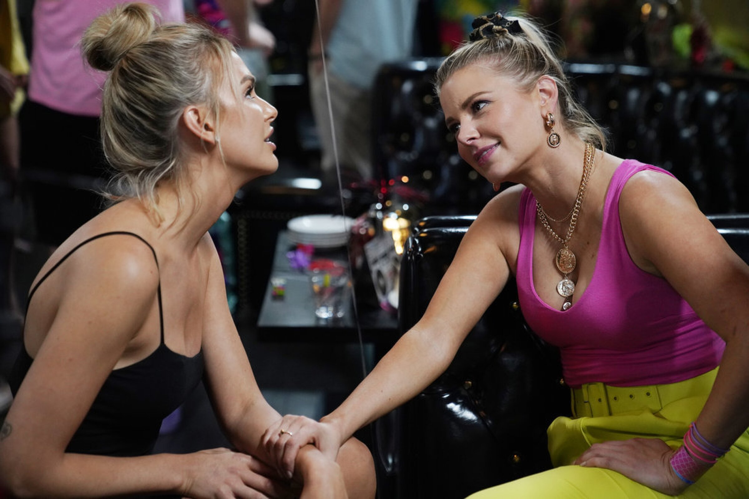 """Lala Kent, left, and Ariana Madix in """"Vanderpump Rules."""""""