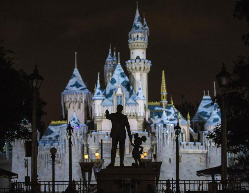 Column: Why this avowed Disney 'apologist' finds it harder to believe in the magic of Disneyland