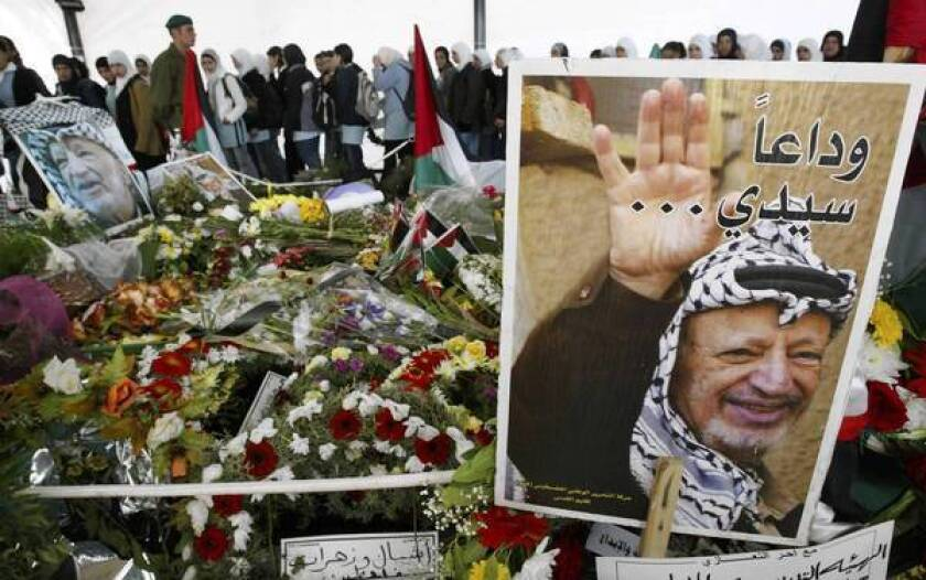Yasser Arafat's body to be exhumed as cause of death is sought