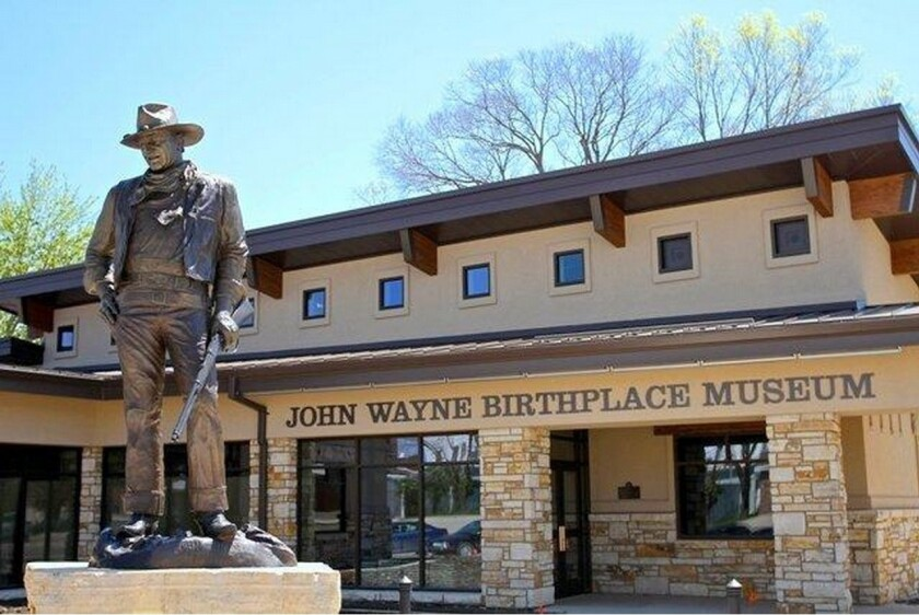 A ribbon-cutting on May 23 will launch a museum dedicated to actor John Wayne in Winterset, Iowa.