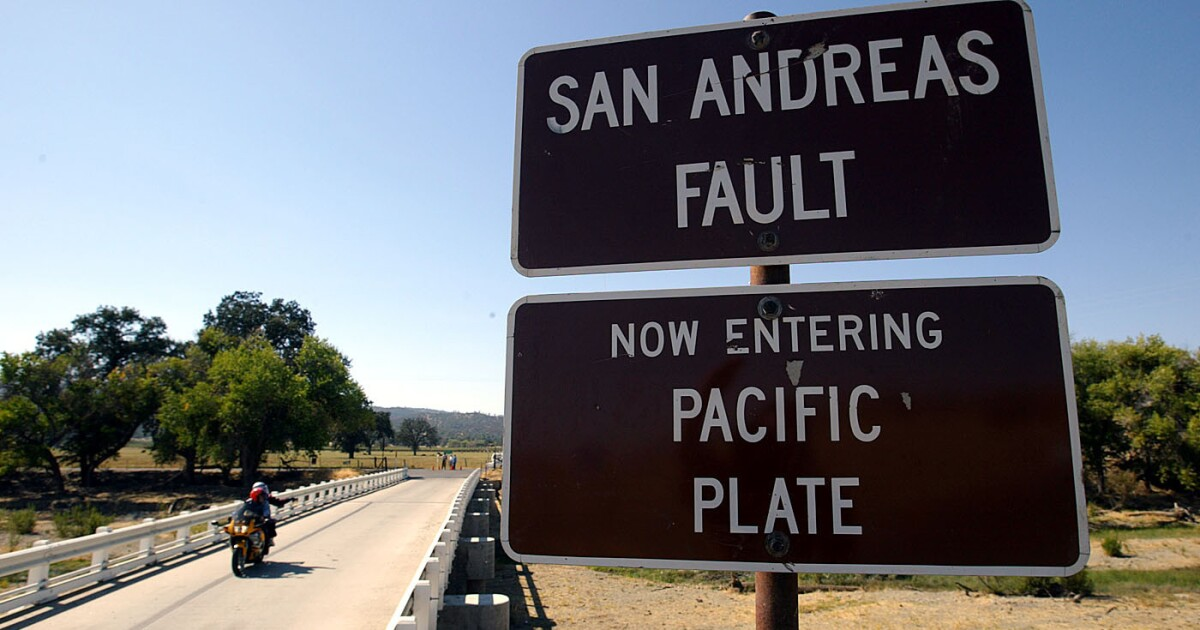 Bay Area earthquakes struck on unusual section of San Andreas fault known for 'creeping'