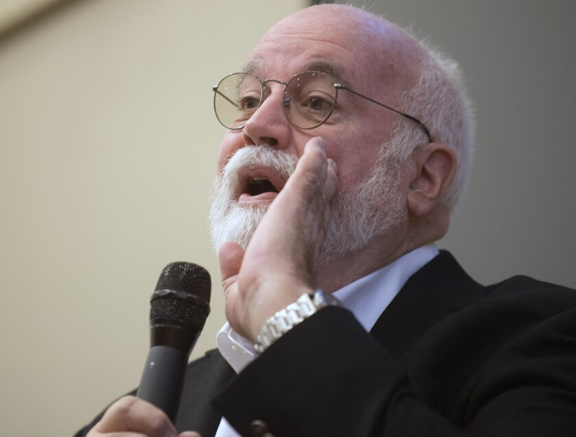 """Gregory Boyle joined the Los Angeles Times Book Club to talk about """"Barking to the Choir."""""""